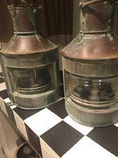 Alderson& Gyde Ltd birminham  WW 2 Lanterns port and starbord 1942 1943