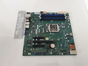 SuperMicro X11SSL-F Socket LGA1151 DDR4 PCI-E Motherboard With I/O Shield