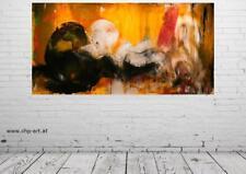 Großes Acryl Gemälde XXL Modern CHP1514 Handgemalt Bild Kunst Abstrakt 210x110cm
