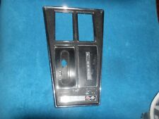 ORIGINAL METAL GM L82 CORVETTE console bezel shift plate AC A/T 73-76 3996819-20