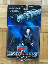 Londo Mollari Babylon 5 Action Figure with Centauri Transport - NIB - MINT