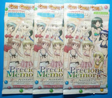 Hidamari Sketch Collectible Anime Cards 3 Booster Packs Precious Memories  NEW