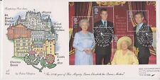QEII GB 4d POST QUEEN MOTHER 100TH BIRTHDAY MINIATURE SHEET FIRST DAY COVER FDC