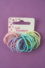 20 pack in pastel small and thin hair elastics