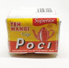 4x40 gr (1.41 oz)  Teh Wangi Cap Poci, Loose Leaf, Green Tea - Jasmine Tea