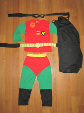 COSPLAY ROBIN (Batmans Sidekick)  Kids costumes Sizes 2-10 BRAND NEW **MELBOURNE