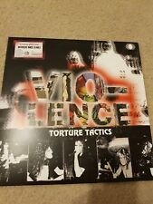 Vio-lence Torture Tactics LP Night of living dead benediction pestilence LIM 400