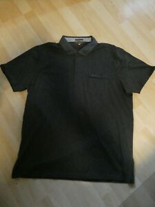Ben Sherman Poloshirt Polohemd XXL Baumwolle neu mit Etikett grau graumeliert