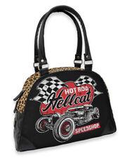 Hotrod Hellcat Damen SPEEDSHOP Handtasche/Bowling Bags.Tattoo,Biker,Pin up Style