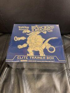 Sealed XY Ancient Origins Hoopa Elite Trainer Pokemon Box Ex Lugia