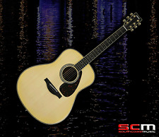 Yamaha LL16D NT ARE Hand Crafted All-Solid Acoustic Electric Guitar with Case