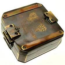 Brass Compass Kelvin & Hughes London 1917 Compass Marine Nautical Style