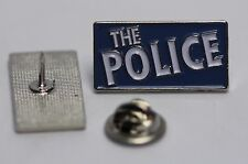 THE POLICE BLUE PIN (MBA 673)