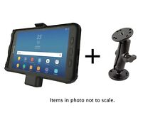 RAM Powered Flat Surface/Drill-Down Mount for Samsung Galaxy Tab Active2