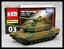 TOMICA PREMIUM 03 JSDF TYPE 90 TANK 1/124 TOMY DIECAST CAR NEW