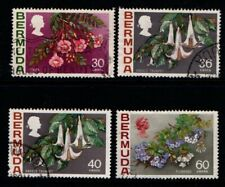 Bermuda 1970 1975 1976 Flowers selection Used