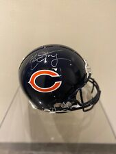 Signed Mitchell Trubisky Chicago Bears Helmet