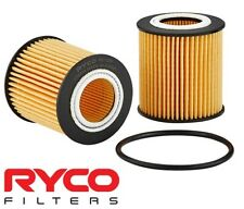 RYCO HIGH FLOW CARTRIDGE OIL FILTER FOR FORD RANGER PX P5AT TURBO DIESEL 3.2L I5