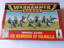 Warhammer 40K Imperial Guard Ice Warriors of Valhalla Squad BNIB OOP ***RARE***