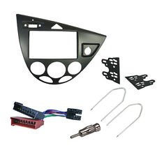 CT23FD35 Double Din Car Stereo Fitting Kit Fascia for FORD Focus 1999 - Jan 2005