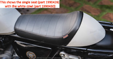 Royal Enfield  SINGLE RIDER SEAT & ICE QUEEN COWL FOR CONTINENTAL GT 650