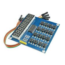 8 Bits 16 Keys LED Digital tube Module Keyboard Scan Display Module TM1638 MCU