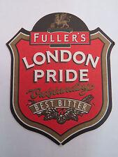 UK Beer Bar Pub Mat Coaster <> Outstanding Best Bitter <> Fuller's London Pride