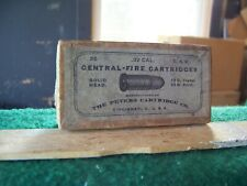 Peters Semi Smokeless 32 S&W Center Fire Cartridge Box ( Empty)