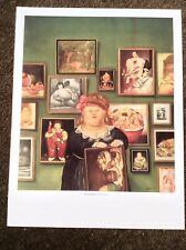 Fernando Botero PRINT Vintage 2006 Art Figurative Painting Collector Fat Lady