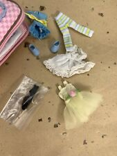 Tonner Amelia Thimble Outfit Dress Sets, Shoes & A Stitch in Time Carry All Bag