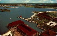 Orlando Amerika USA Florida AK 1975 Disney World Park Bucht Polynesian Village