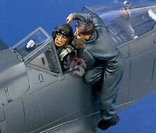Verlinden 1/48 German Luftwaffe Pilots and Ground Crewman WWII (3 Figures) 1374