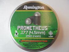 Remington prometheus .177 / 4.5mm airifle pellets x tin of 250 pellets