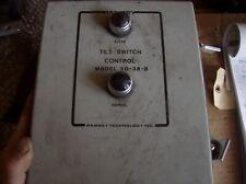 RAMSEY ENGINEERING TILT SWITCH CONTROL  20-38B
