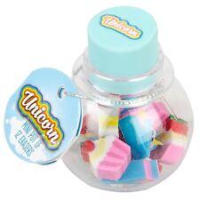 NPW Unicorn Mini Eraser Pot School Office Stationery Party Bag Filler