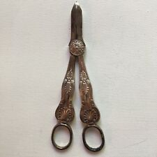 Mappin and Webb Silverplate Grape Shears Princes Plate Scissors #71552