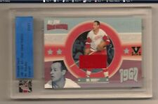GORDIE HOWE MR. HOCKEY ITG ULTIMATE MEMORABILIA VAULT GAME USED JERSEY 1/1