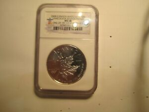 NGC MS68 2008 Canada $5.00 Maple Leaf Vancouver 2010 Olympics 1st Strike
