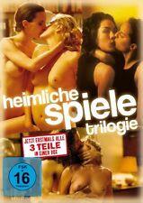 HEIMLICHE SPIELE 1+2+3 Trilogie (Teuflische Engel, Gefallene Engel) 3 DVD NEU!