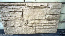 Plastic rock facing sheet of wall veneer plaster concrete mold mould