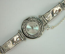 W00664 SHABLOOL ISRAEL Didae Handcrafted Sterling Silver 925 Bracelet Watch
