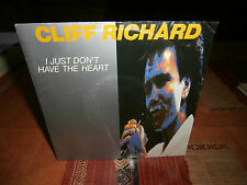 """cliff richard""""i just don't have the heart.""""single7""""or.france.emi:2034777 de 1989"""