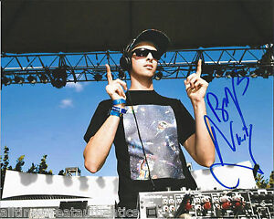 DJ ELECTRONIC BOYS NOIZE SIGNED 8X10 PHOTO W/COA ALEX RIDHA OUT OF THE BLACK A