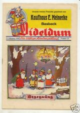 Dideldum Kinderzeitung 10. Jahrgang 6 Hefte 1938 Otto Waffenschmied Comics