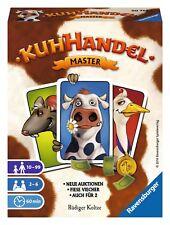 Ravensburger KUHHANDEL Master Kartenspiel 20752 Neue Auktionen / Auch für 2