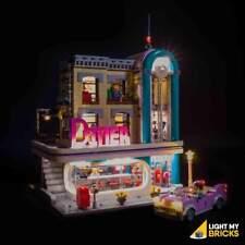 LIGHT MY BRICKS - LED Light Kit for LEGO Downtown Diner 10260 set - NEW