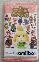 Animal Crossing AMIIBO Amiibokarten SERIE 4 Pack a 6 Karten Blister *NEU*