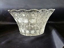 Czech Bohemia crystal glass - Cut Bowl 31cm