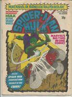 Spider-Man and Hulk #403 : November 1980 : Vintage Marvel UK Comic