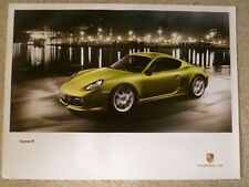 2011 Porsche Cayman R Showroom Advertising Sales Poster RARE!! Awesome L@@K